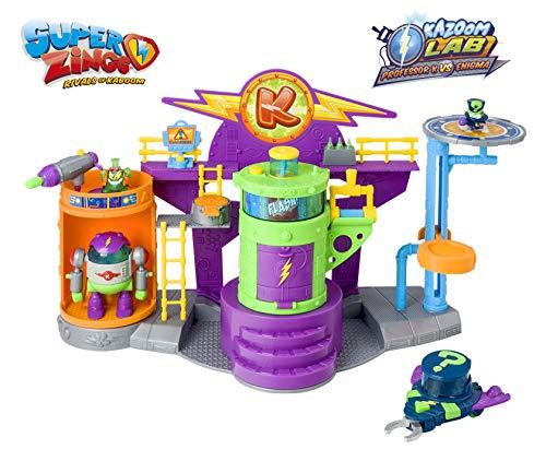 Superzings - Kazoom Lab Battle con únicas y exclusivas figuras