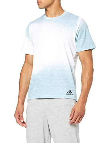 TALLAS S y M - adidas Freelift_Sport Spray Graphic T-Shirt, Camiseta para Hombre