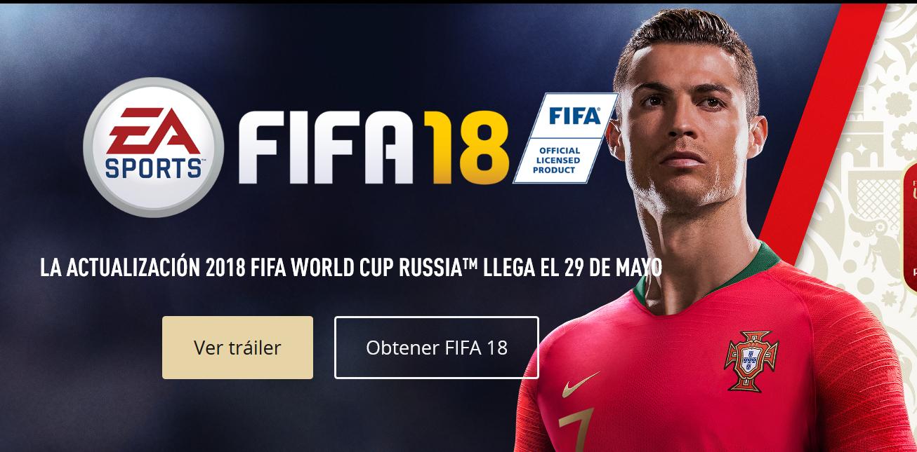 PC, XBOX ONE, PS4, SWITCH: FIFA WORLD CUP 2018 gratis para quien tenga el FIFA 18