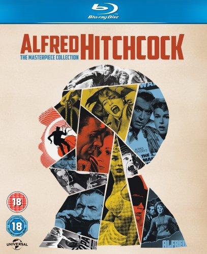 Blu-Ray Colección de 14 pelis de Alfred Hitchcock