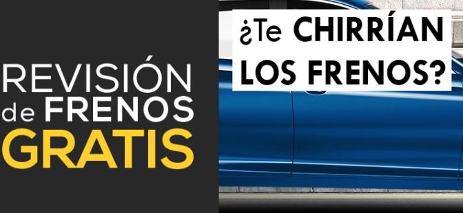 REVISIÓN DE FRENOS GRATIS MIDAS (ver talleres)