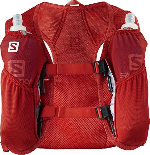 SALOMON Agile 2 Set Mochila pequeña para Carrera de montaña, Práctica y Ligera, Capacidad 2 l, Bolsa de hidratación incluida, Unisex Adulto
