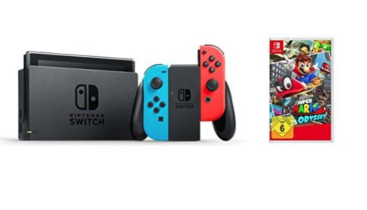 CHOLLAZO Nintendo Switch + Mario Odyssey (u otro juego) por 329