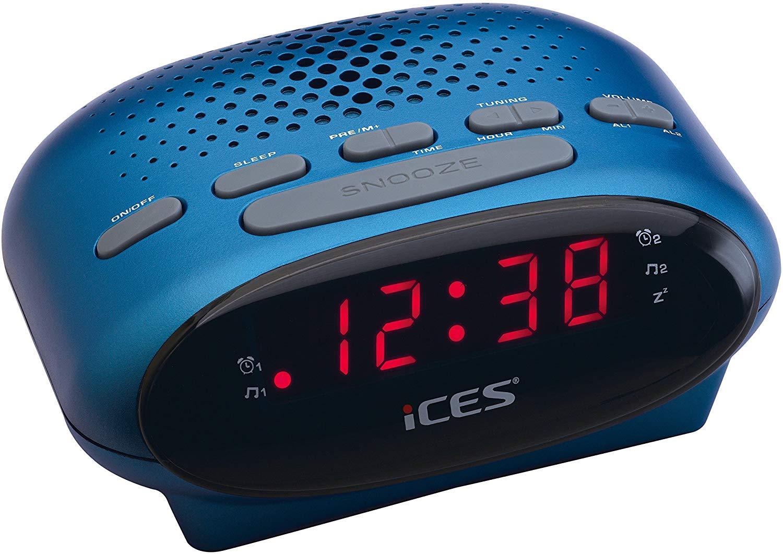 Radio despertador con alarma reacondicionado