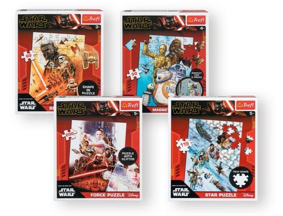Puzle Star Wars, 4 modelos diferentes. También hay de Frozen.
