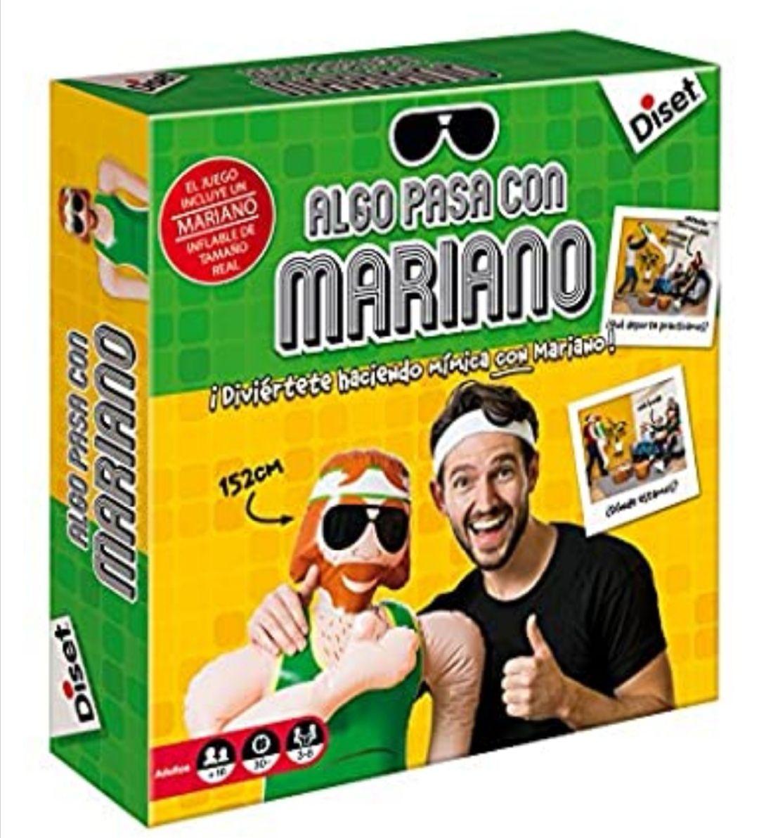 Diset. Juego Algo Pasa con Mariano