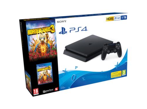 Consola Sony PS4 Slim 1TB + Borderlands 3