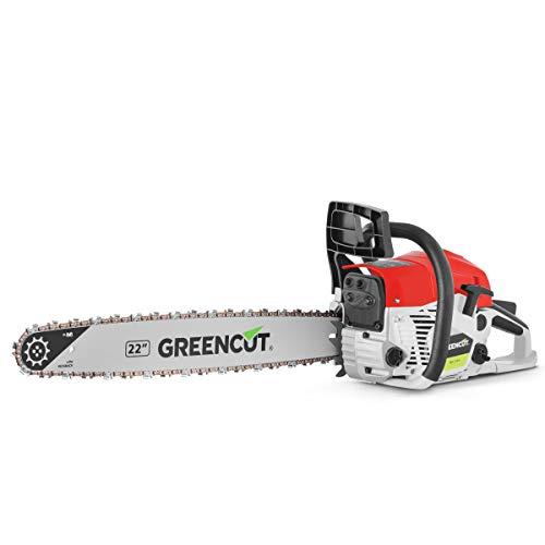 """Motosierra gasolina 22"""" Greencut solo 69.9€"""