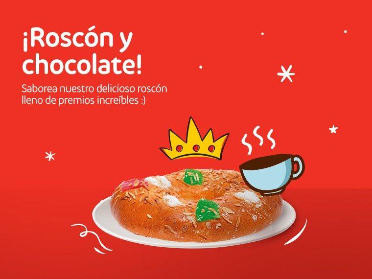 Roscón de Reyes y chocolate caliente gratis en Zaragoza