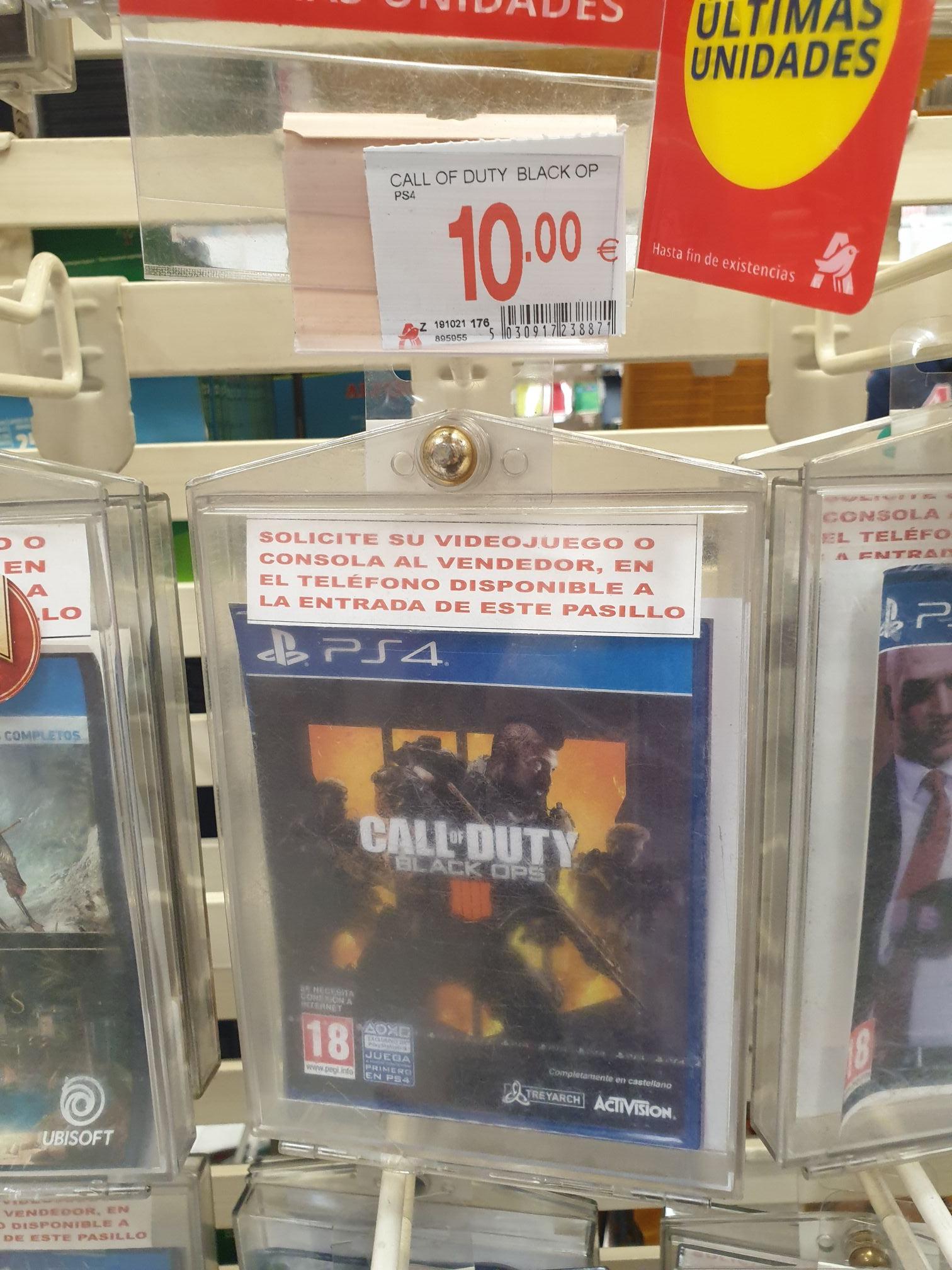 Call of Duty Black Ops 4 PS4 en Alcampo Parquesur