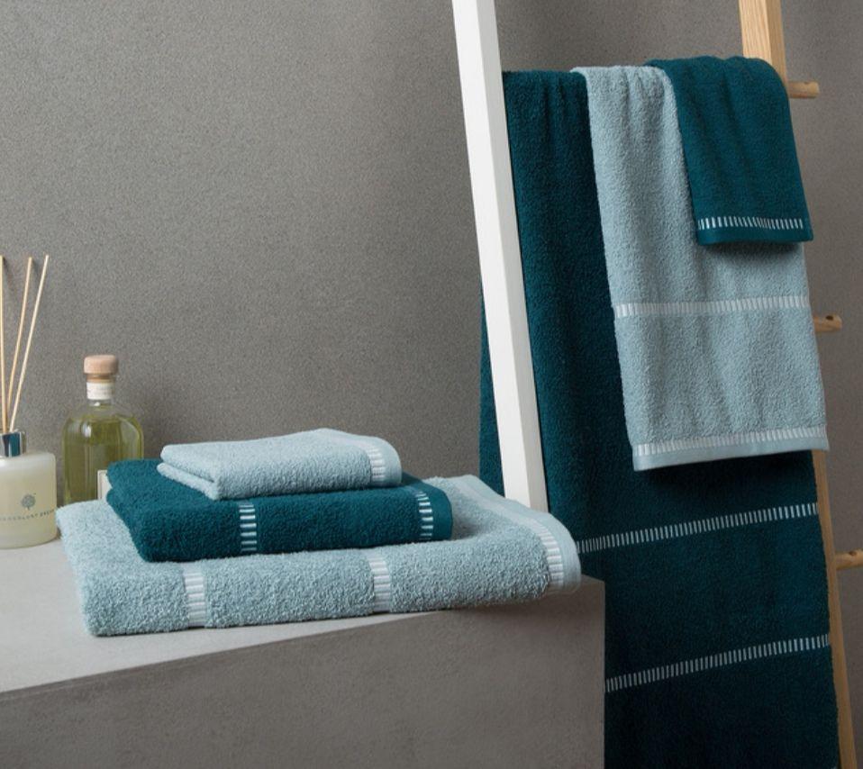 Juego de 6 toallas 100% algodón Steken Basics El Corte inglés