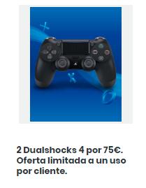 2 DUALSHOCK 4 POR 75€ - 37,50€ CADA UNO