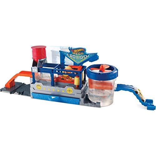 Hot Wheels Supertúnel de lavado (Mattel FTB66)