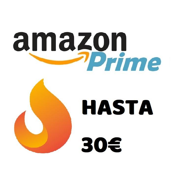 Megarecopilación cupones Amazon Prime hasta 30€