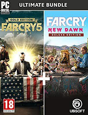Far Cry 5 edición gold + Far Cry New Dawn edición deluxe