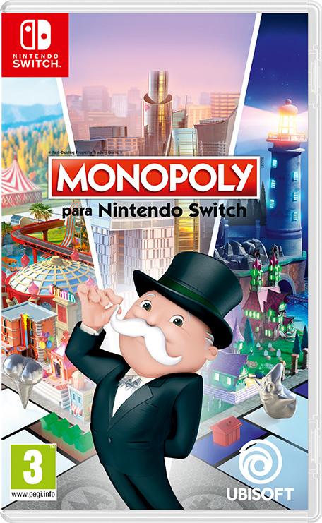 Monopoly para Nintendo Switch solo 9,99€