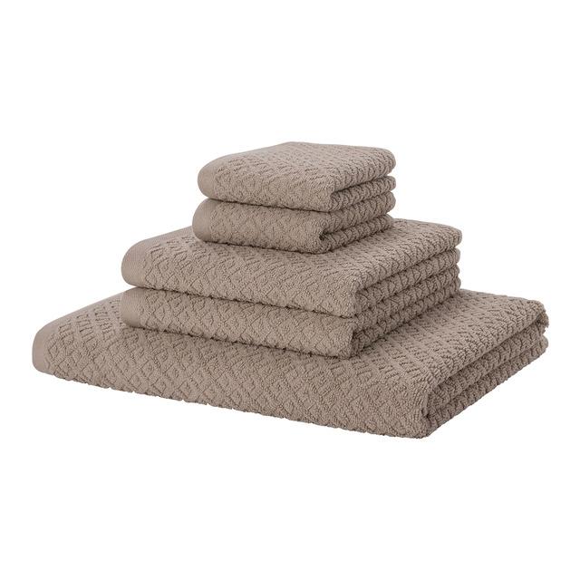 Juego de 5 toallas más gorditas