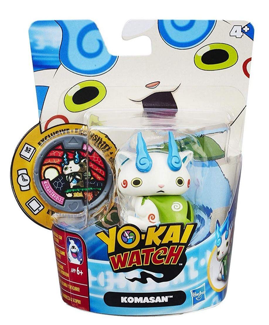 Yo Kai Watch Figura+ MEDALLA. HASBRO. (reaco - Como nuevo)
