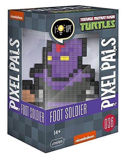 """Lámpara Pixel Pals Tortugas Ninja """"Foot Soldier"""""""