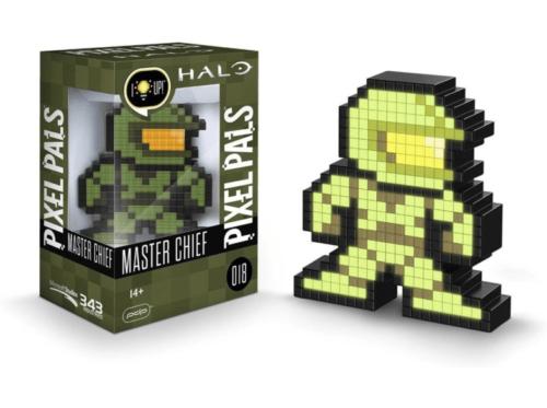 Lámpara Pixel Pals (Halo Master Chief, Foot Soldier y Mortal Kombat Raiden) por sólo 5€