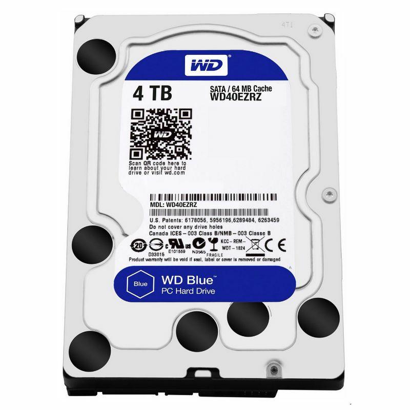Western Digital Blue HDD 4TB 5400rpm