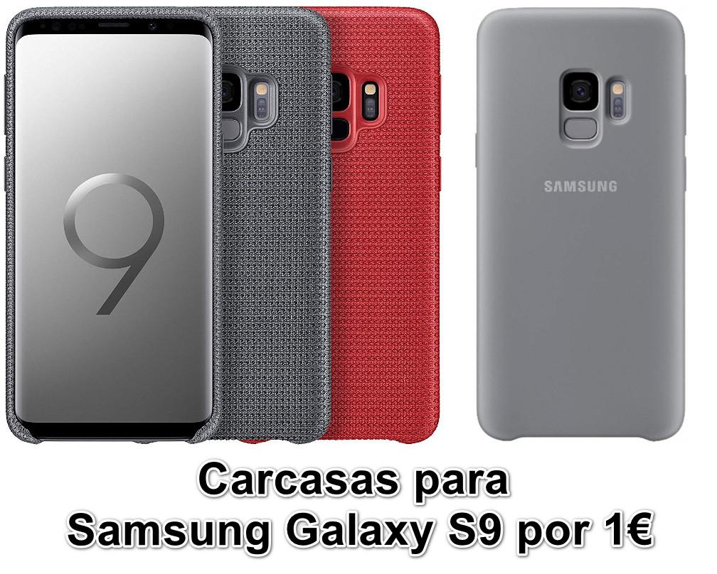 Carcasas Samsung e Hyperknit para el Galaxy S9 por tan sólo 1€