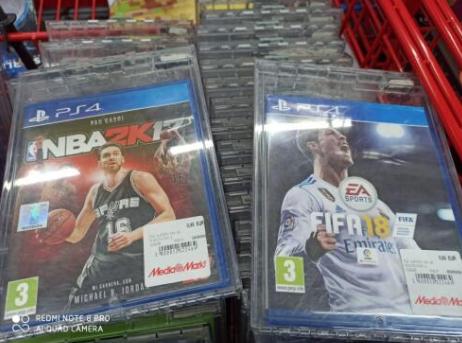 FIFA 18 y NBKA 2K17 a 0.99 la unidad