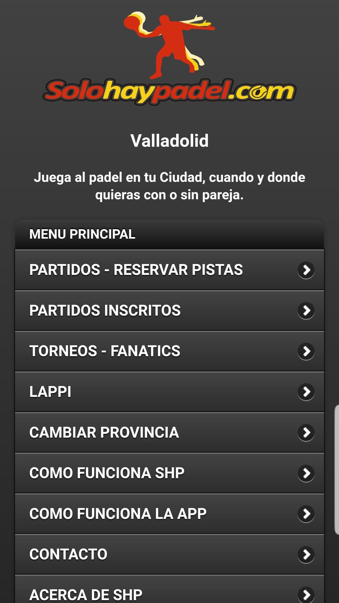 Pádel gratis (Valladolid)