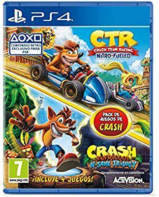 Crash Team Racing Nitro Fueled + Crash N. Sane Trilogy bundle