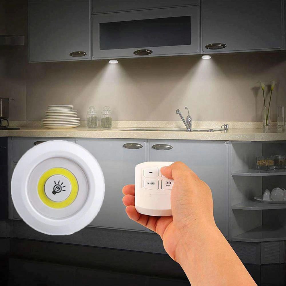 Luz led 3W con mando a distancia