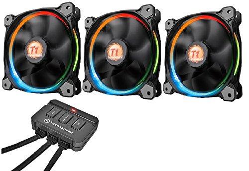 Thermaltake Riing 3 ventiladores solo 49.9€