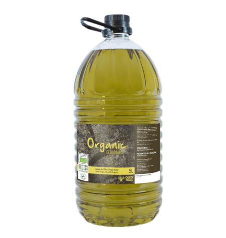 Aceite de Oliva Virgen Extra ECOLÓGICO 5L (Jaén)