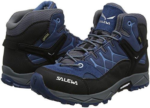 TALLA 28 - SALEWA Jr ALP Trainer Mid GORE-TEX®, Botas de Senderismo Unisex niños