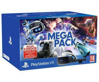 Mega pack VR + 5 juegos Playstation 4