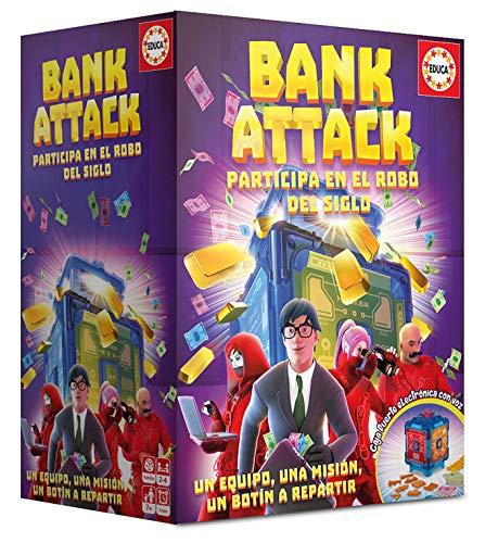 Educa Borrás - Bank Attack - Juego de Mesa