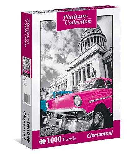 Clementoni - Puzzle Platinium Collection 1000 Piezas Cuba. PRODUCTO PLUS