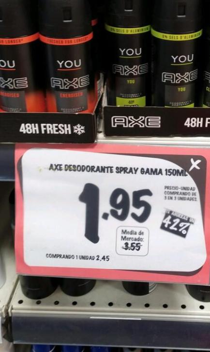 Desodorante AXE 150ml