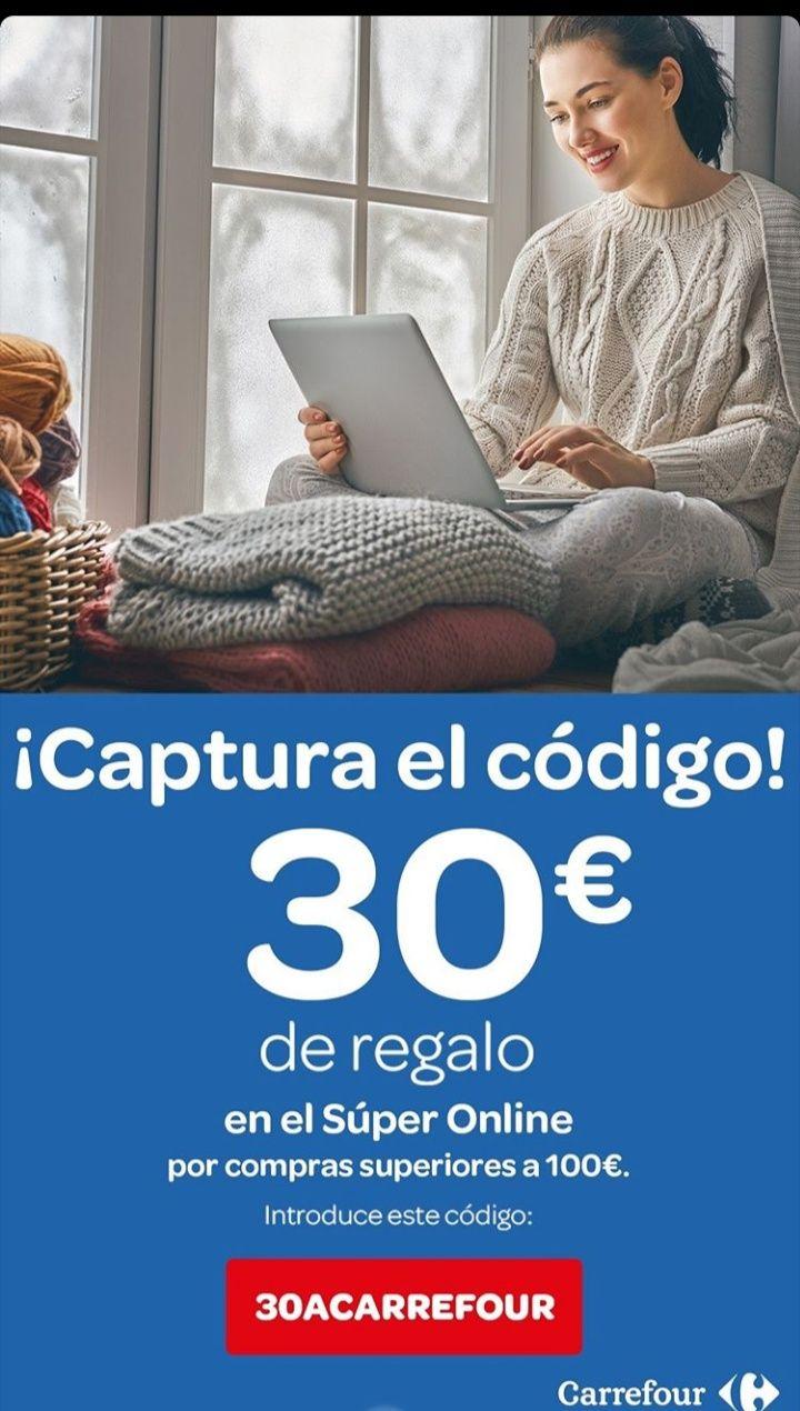 Cupon enero Carrefour -30€