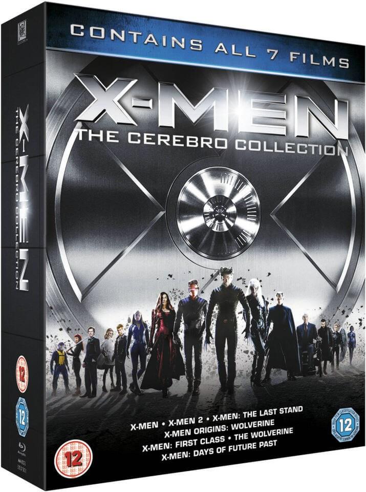 X-men colección cerebro bluray