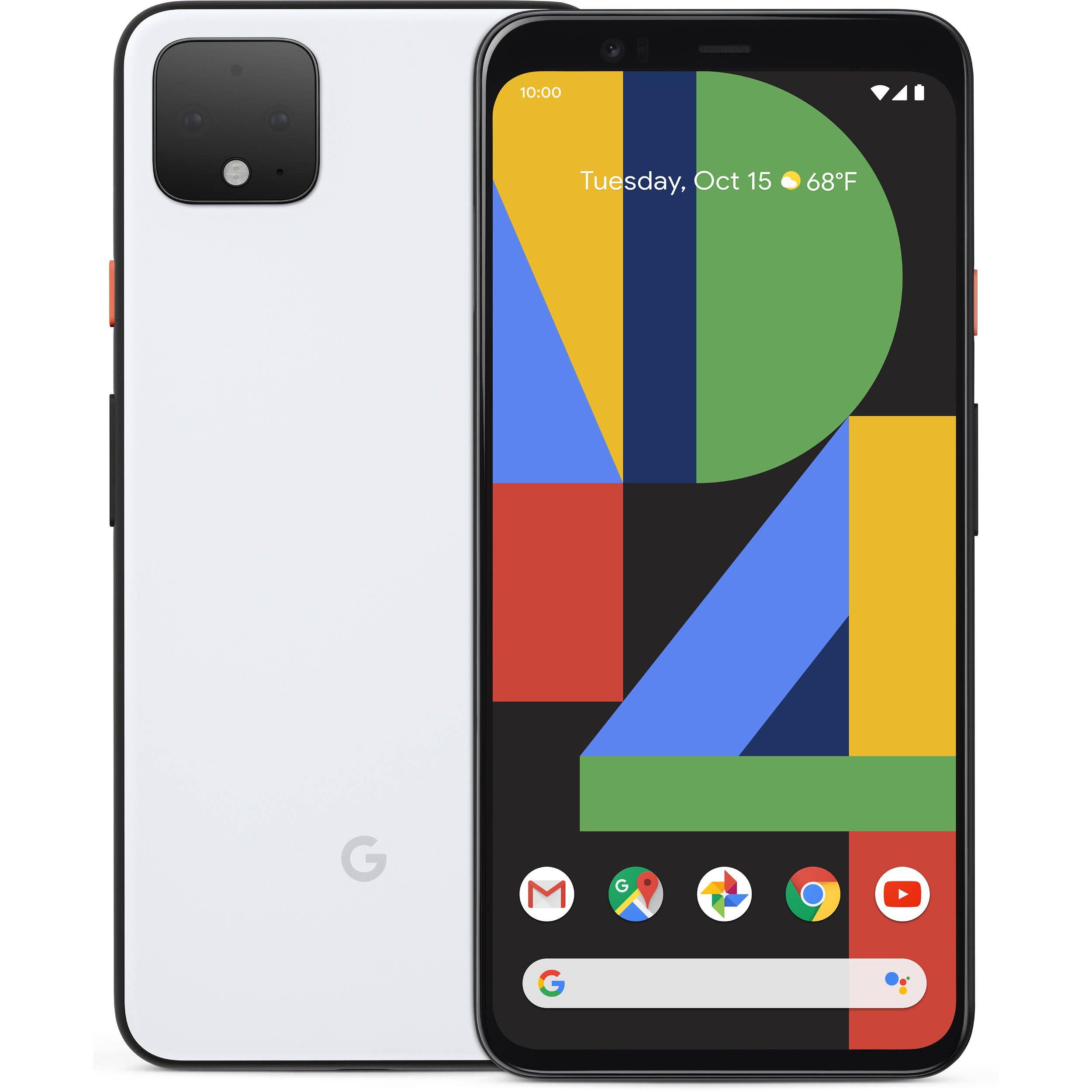 Google Pixel 4 709€ y 4 XL a 849€ (6/64GB)