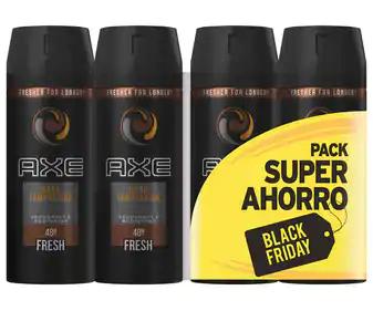 4 Axe Dark Temptation por 9,60€