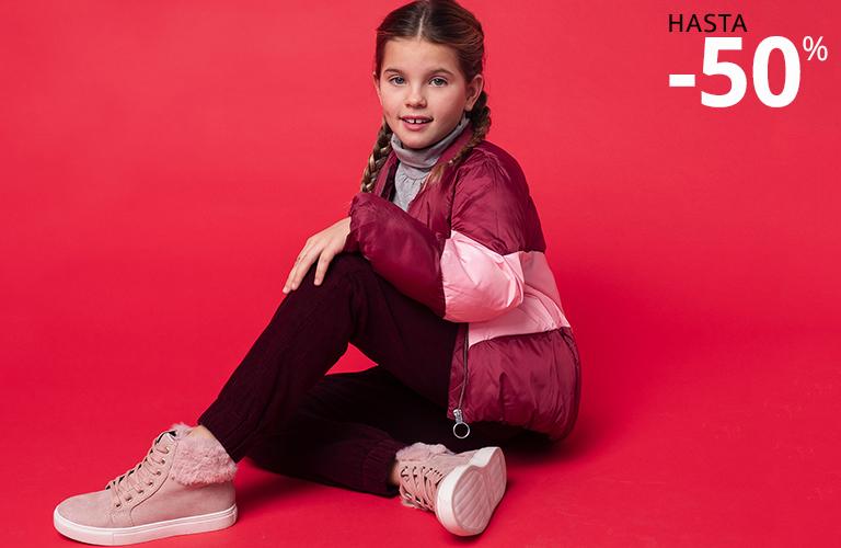 Rebajas en moda hasta el 50% Carrefour