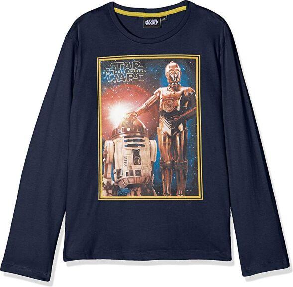 Camisetas manga larga Star Wars niños por menos de 6 euros (plus)