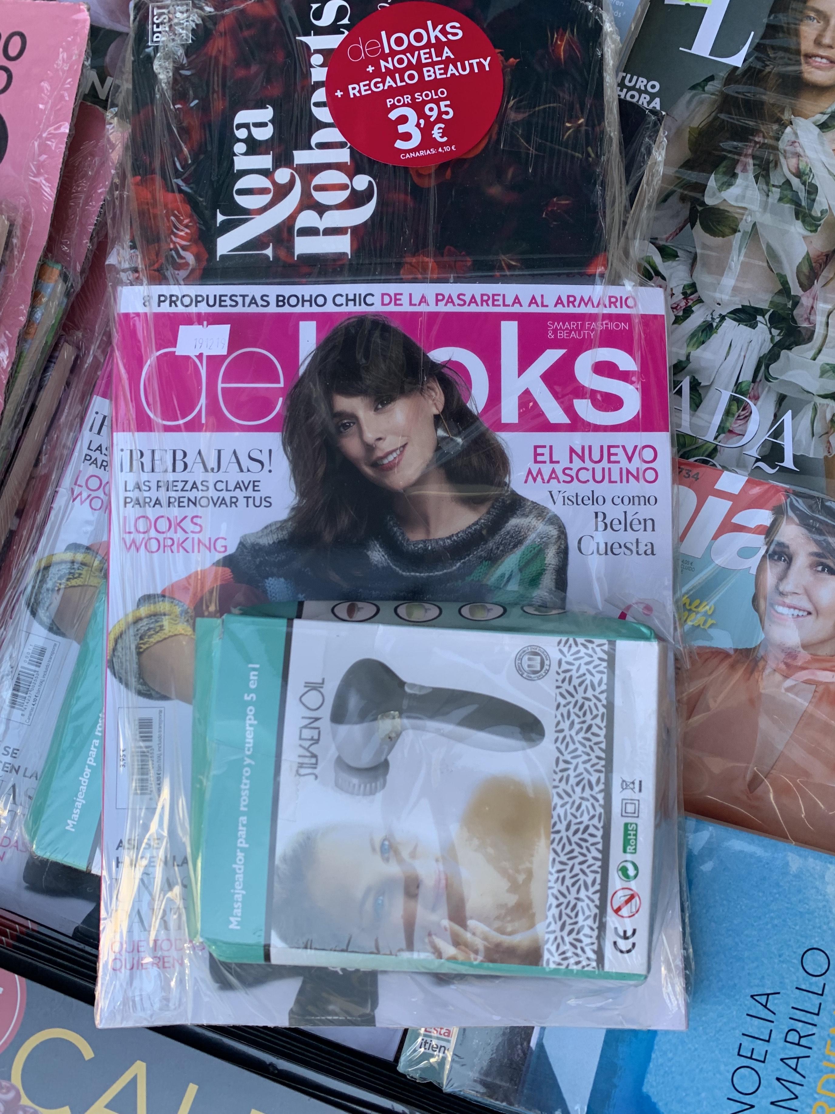 Chollokiosko Exfoliador facial Gratis con revista Delooks