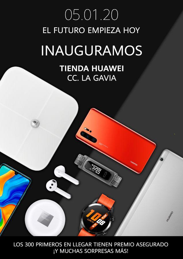 Huawei 300 dispositivos GRATIS CC La Gavía Madrid