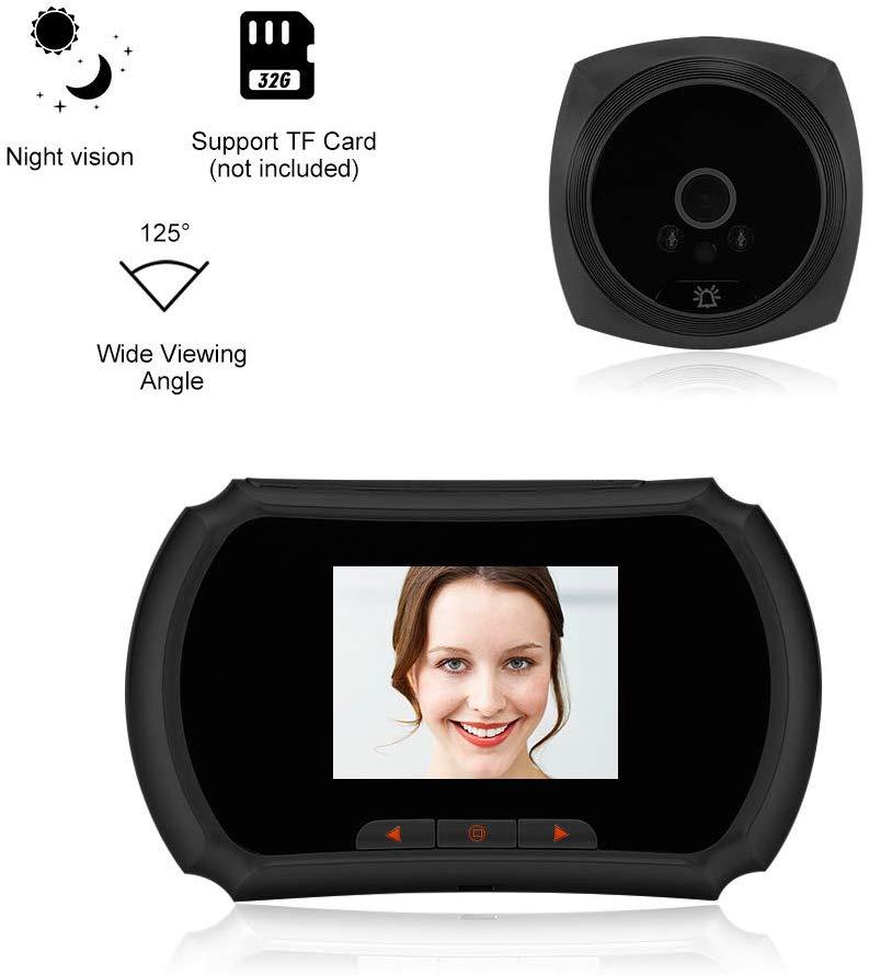 """Mirilla Digital con pantalla 3"""". Bateria incluida"""