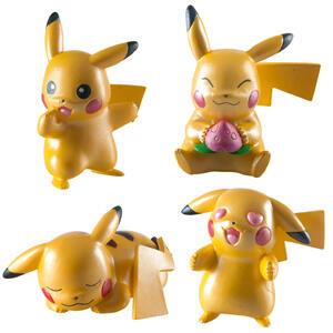 Pack 4 figuras Pikachu 20 aniversario Pokémon (AlCampo)