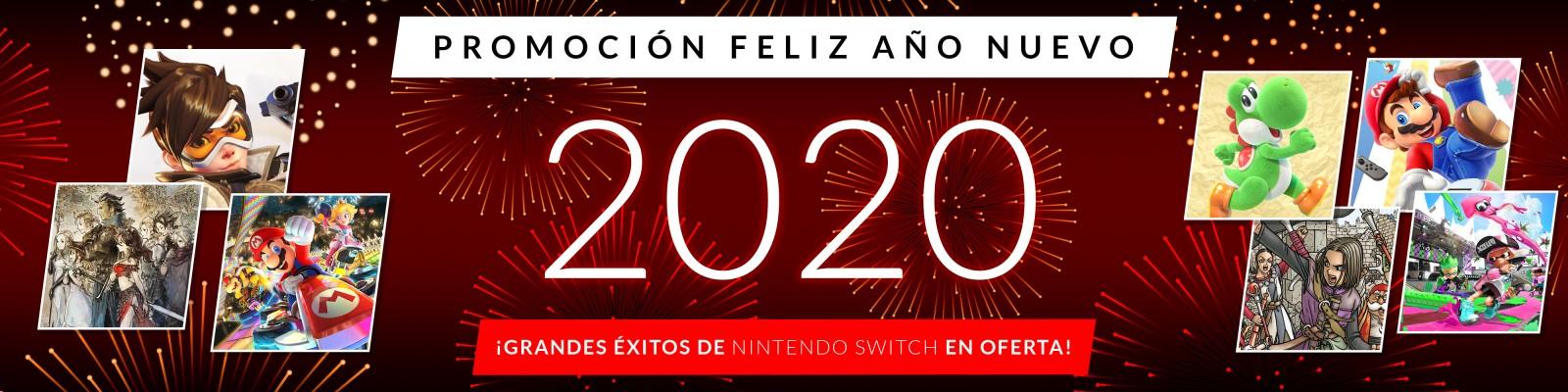 """Ofertas de Nintendo eShop: Promoción """"Año Nuevo 2020"""""""