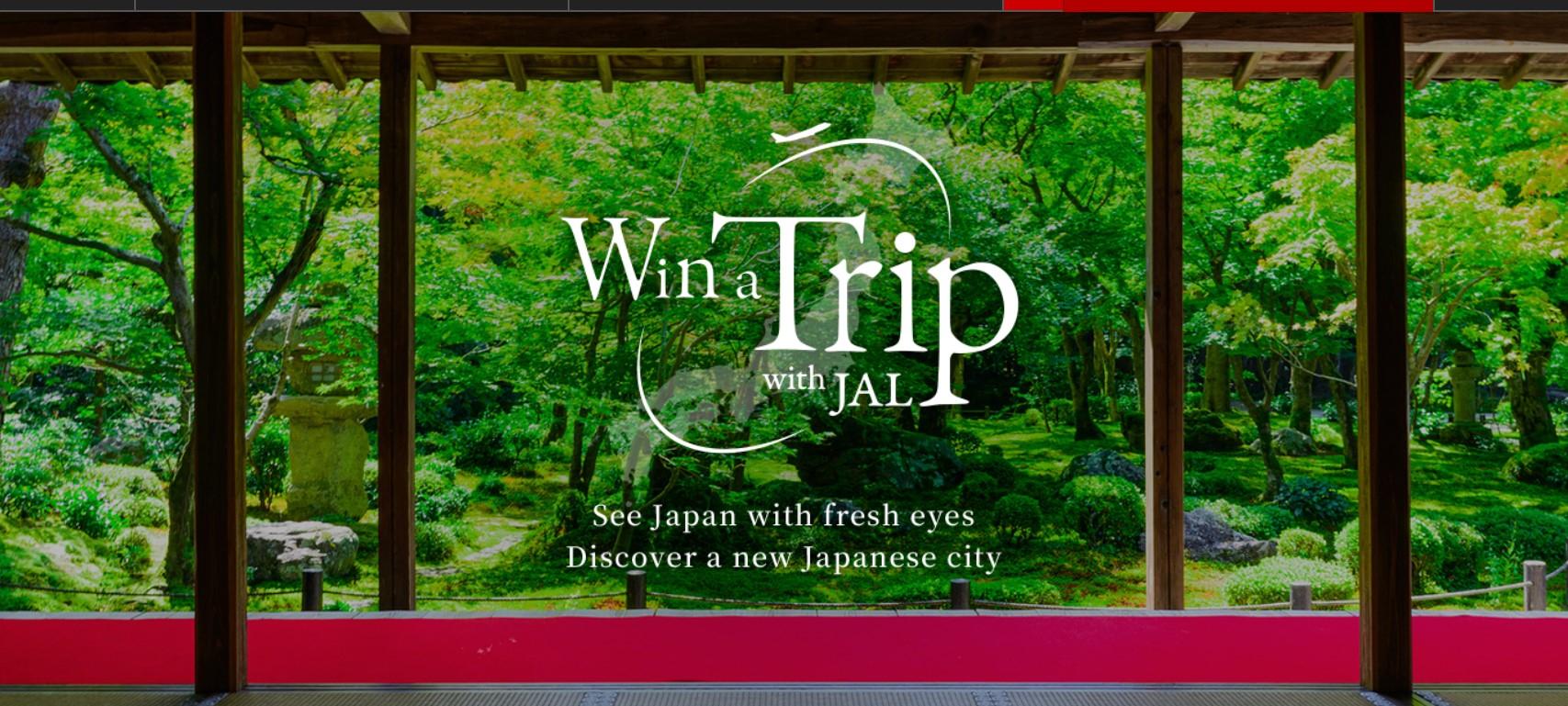 Viaja GRATIS en Japan Airways en vuelos entre ciudades japonesas