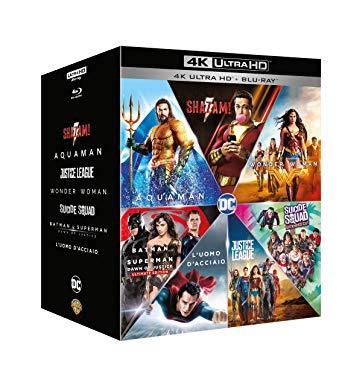 7 peliculas en 4K (version italiana) Dc Comics Boxset (7 4K Ultra Hd+7 Blu-Ray) [Italia]